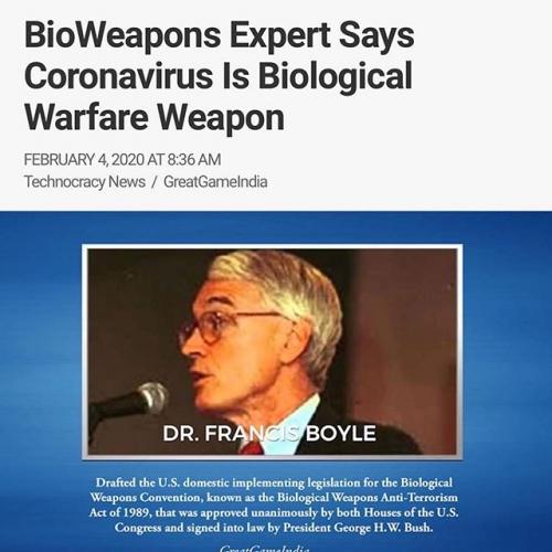 Dr Francis Boyle