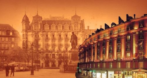 Oud en nieuwe Maison Rouge Hotel